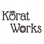 """""""身に着けてもジュエリーボックスに飾っても楽しめる""""がコンセプトのジュエリーブランド「Korat Works(コラットワークス)」のロゴ"""