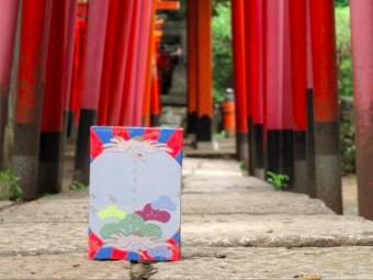 「kichijitsu」のオリジナルご朱印帳を持ち歩いて、秋のご朱印巡りをしよう!