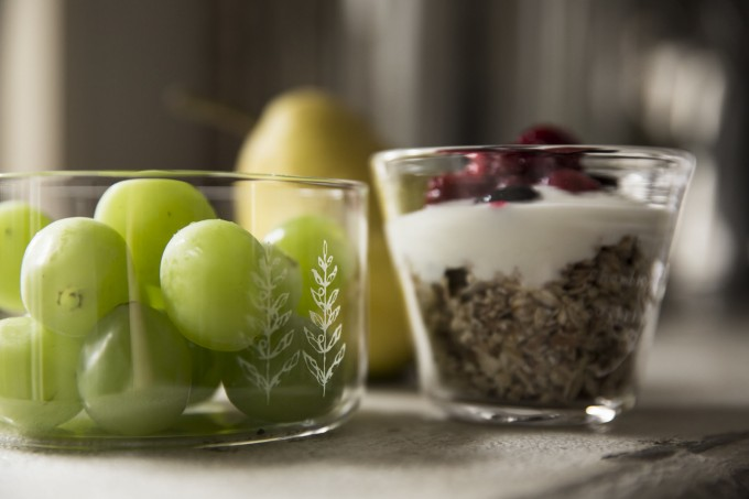 "「Lehti(レフティ)」の""glass bowl"""