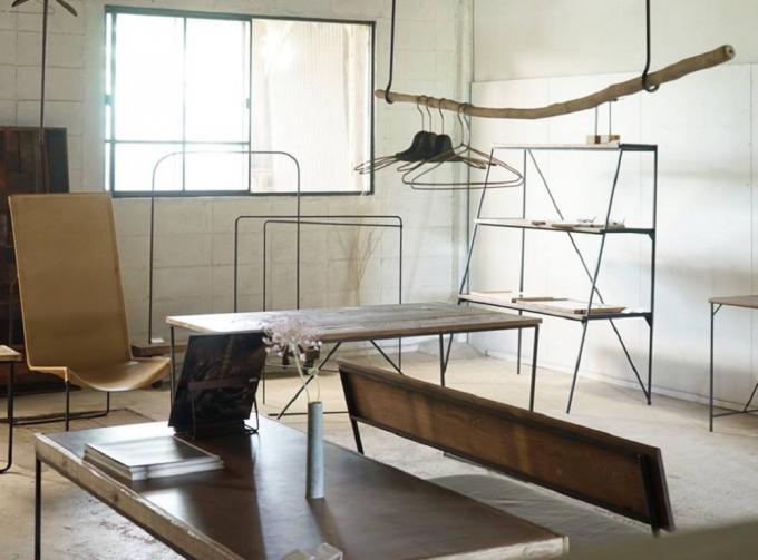 兵庫県姫路市の枯白 kokuの展示室
