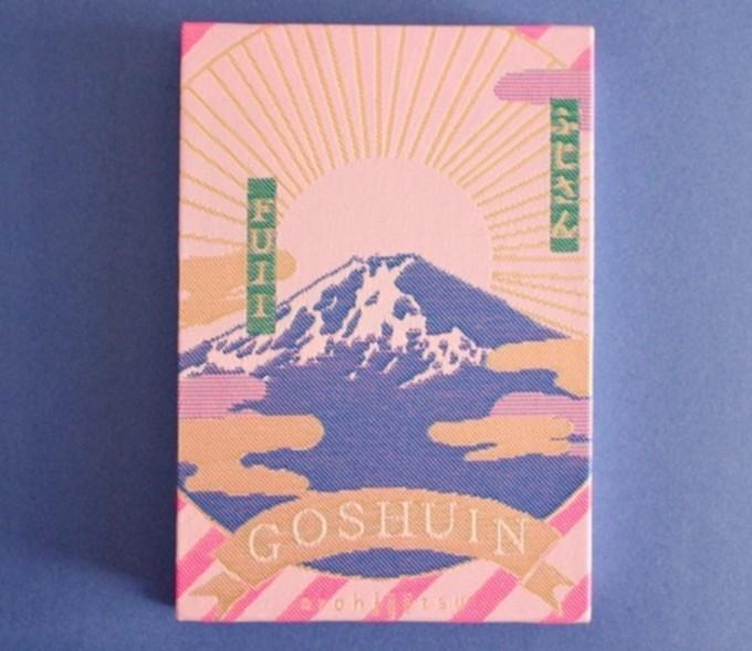 kichijitsuのお洒落で可愛いGOSHUINノート「ふじさん」