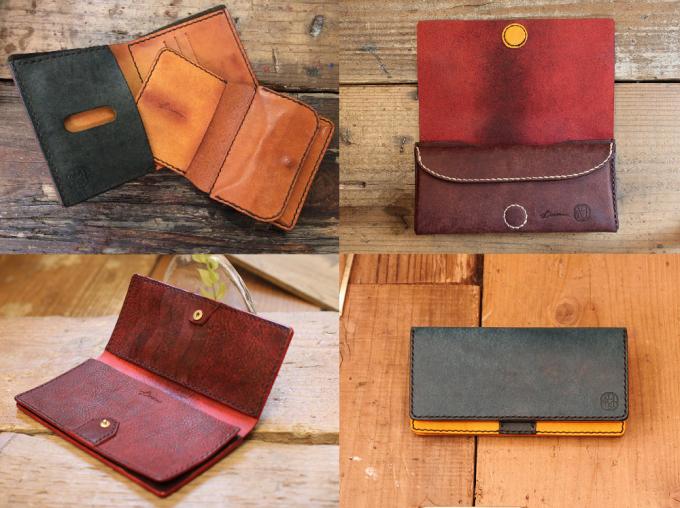 LITSTA(リティスタ)のレザー素材のセミオーダー可能な財布