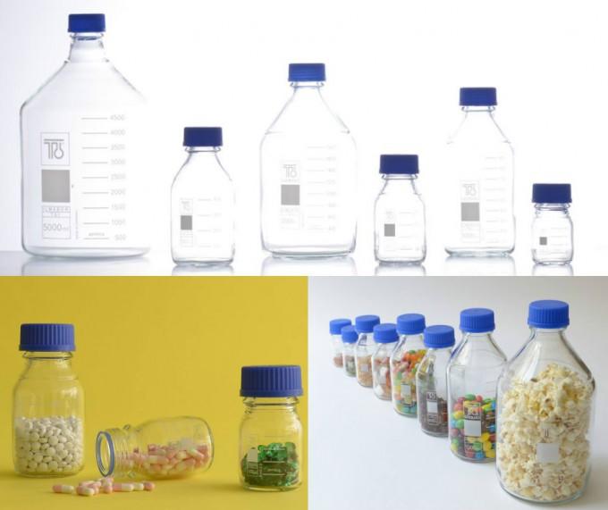 食品やサプリなどを保存できるストレージボトル