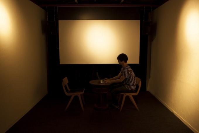 Kino Iglu(キノ・イグルー)の「あなたのために映画えらびます。」の会場の様子