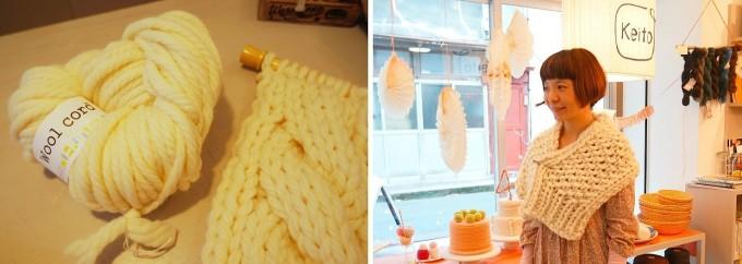 浅草橋毛糸専門店keitoの大きな毛糸玉「Wool cord」
