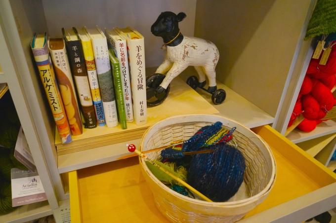 浅草橋毛糸専門店keito、編み物の本
