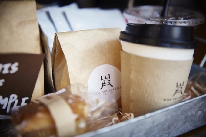 八丁堀にある「WISE OWL HOSTELS TOKYO」で提供しているコーヒー