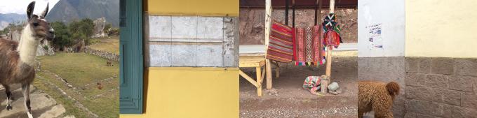ペルーの情景4シーン
