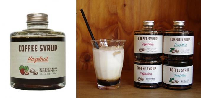 IFNi  ROASTING & CO.(イフニ ロースティングアンドコー)のコーヒーシロップ数種類