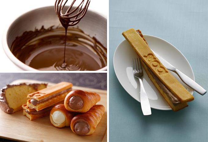 「100%チョコレートカフェ」はチョコのフードも人気