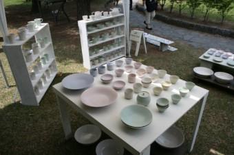 太郎工房の手作り陶器たち