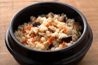 何度食べても食べ飽きない美味しさ「精進炊き込みご飯」の写真