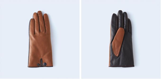 手袋ブランドtet.(てと)の羊革手袋「touch」