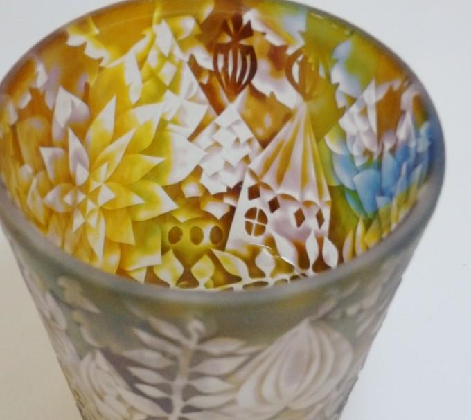 茨城県笠間のガラスギャラリー「Glass Gallery SUMITO」のガラスの作品