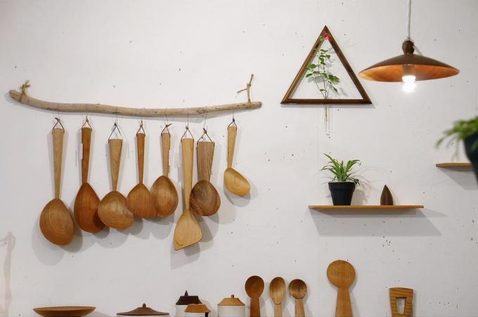 monom(モノム)の木製品数種類