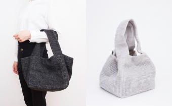 ニットやレザーがこの冬大活躍。こだわり抜いた素材で生み出される「Ense(アンサ)」のバッグ
