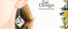 色やかたちで装いに変化を。ひとつは持っておきたいカラフルアクセサリー「Sai Design」
