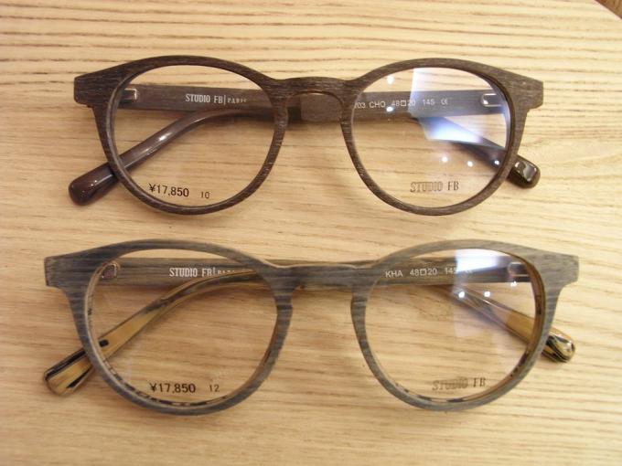 toivoa(トイボア)セレクトの眼鏡2つ
