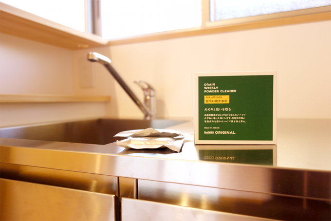 東急ハンズオリジナル排水口洗浄剤