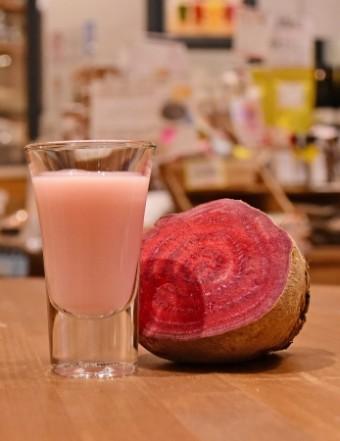「浅草農園Farm Bar」の甘酒ショット「GEISHA」