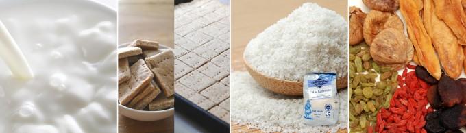 コガネイチーズケーキの生クリームなどの原材料