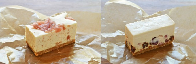 コガネイチーズケーキの限定フレーバー2種