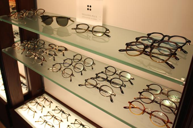 ドメスティック眼鏡(メガネ)ブランド「YELLOWS PLUS(イエローズプラス)」の写真