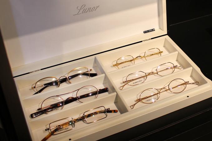 ドイツの眼鏡(メガネ)ブランド「Lunor(ルノア)」の写真