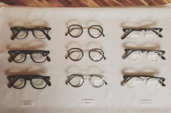 フォントの個性を落とし込んだ、ユニークな眼鏡ブランド「TYPE」