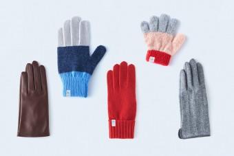 寒い日の心強いおともに。日本有数の手袋生産地で生まれた個性豊かな手袋「tet.(てと)」