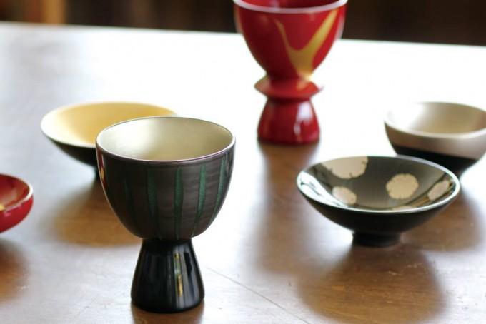 「KORINDO(こうりんどう)」の漆塗の酒器6種類