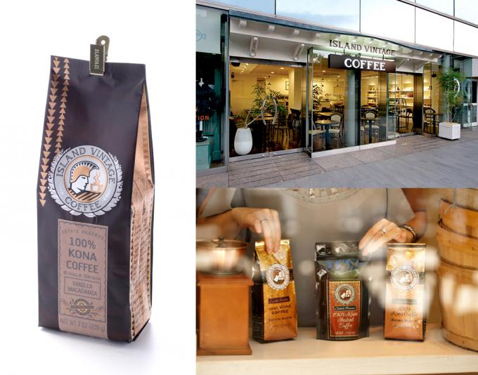 アイランドヴィンテージコーヒーで限定販売するコナコーヒー