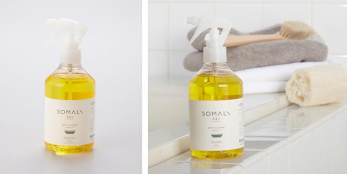 """環境にやさしい洗剤「SOMALI(そまり)」の""""バスクリーナー"""""""