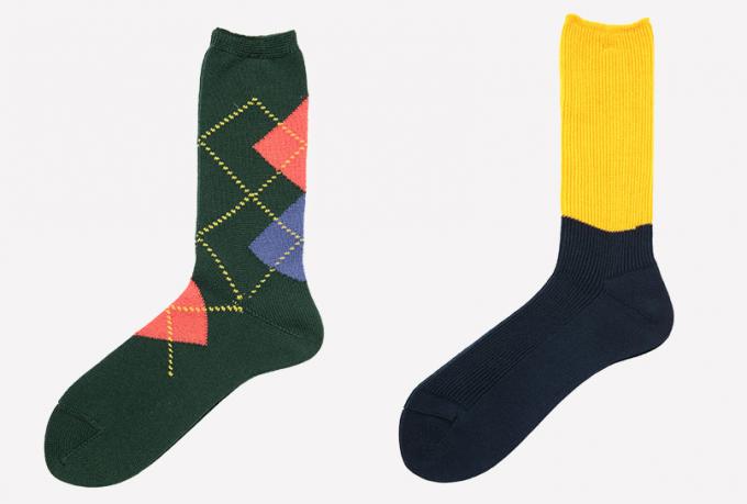 SOC TOKYOのコットン100%の靴下2種類