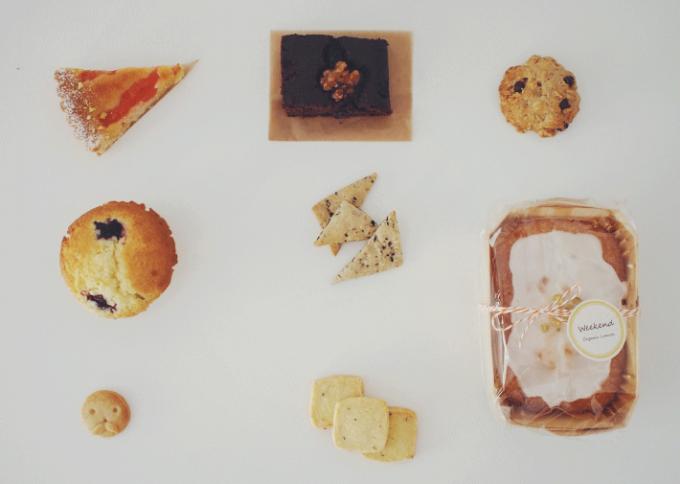 ケーキやスコーンなどのFilicaの焼き菓子数種類