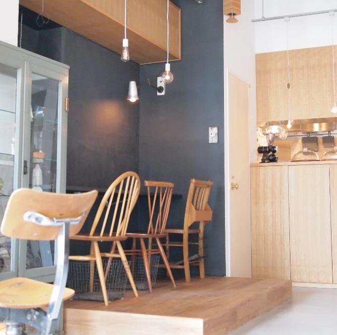カフェ「trim」の店内の様子