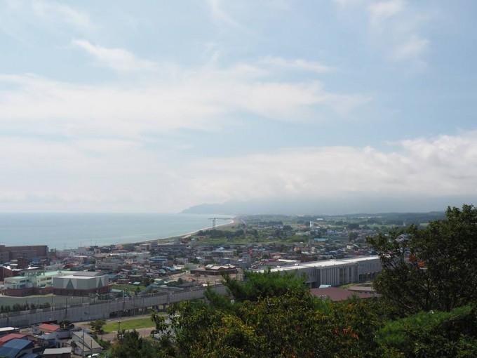 「コッペん道土」のある北海道木古内町