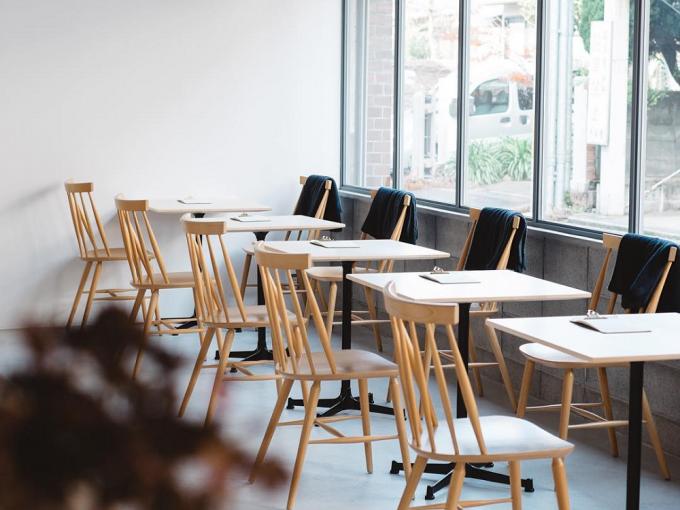 MINOU BOOKS & CAFEのカフェスペース