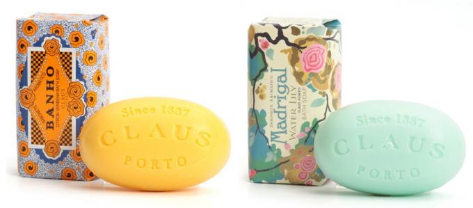 CLAUSPORT(クラウスポルト)のアロマ石鹸2種