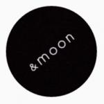 「&moon」ロゴ