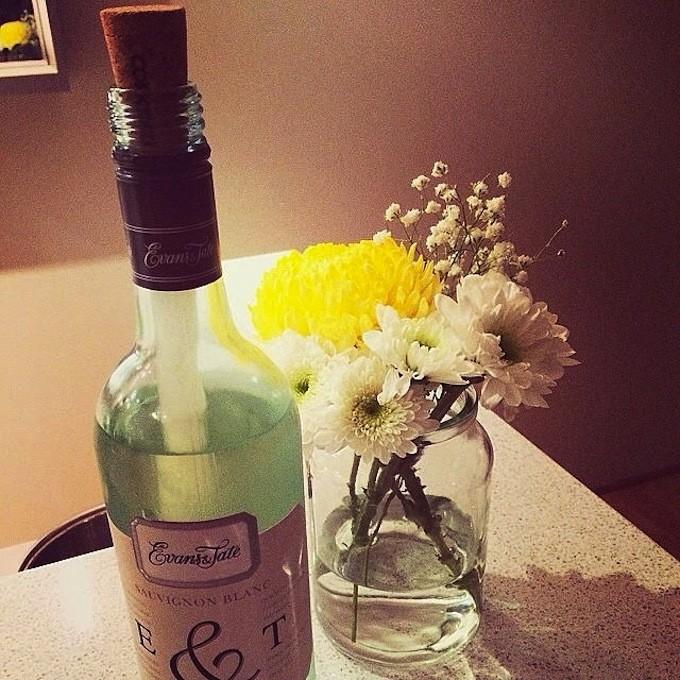 CORKCICLE コークシクルワインチラーとお花