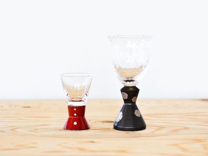「KORINDO(こうりんどう)」の麗しグラス、ワイングラスと冷酒グラス