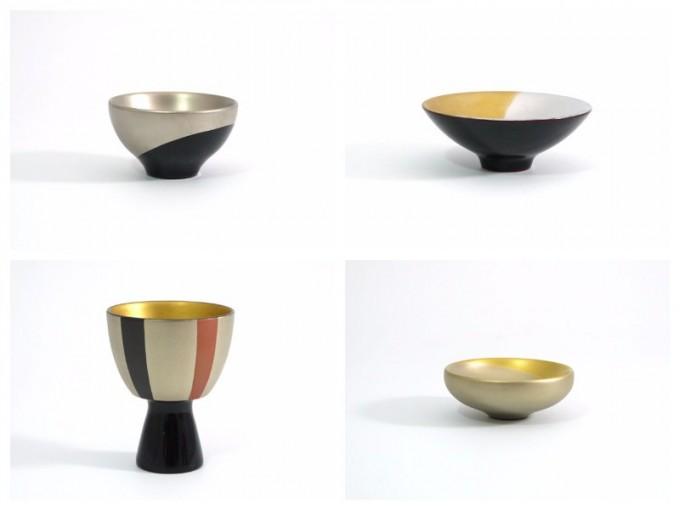 「KORINDO(こうりんどう)」の木製杯「琳派」4種類