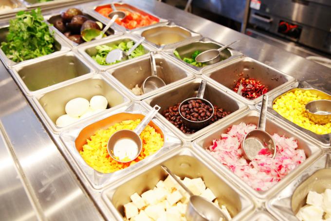 「わたしのサラダ製作所。My SALAD FACTORY!」の選べる野菜たち