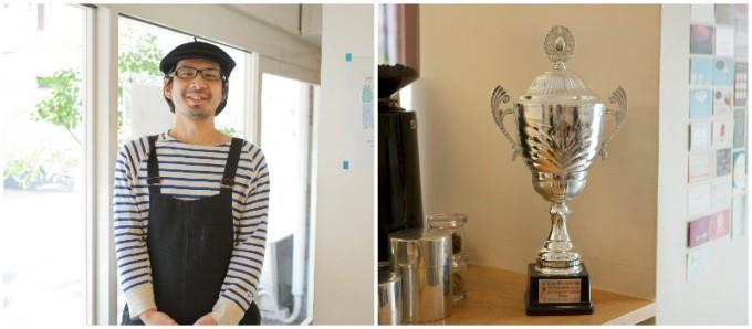 阿佐ヶ谷のジェラテリア「シンチェリータ」の中井洋輔さんは国際ジェラートコンテスト第三位