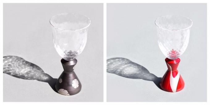 「KORINDO(こうりんどう)」麗しグラスのワイングラス2種類