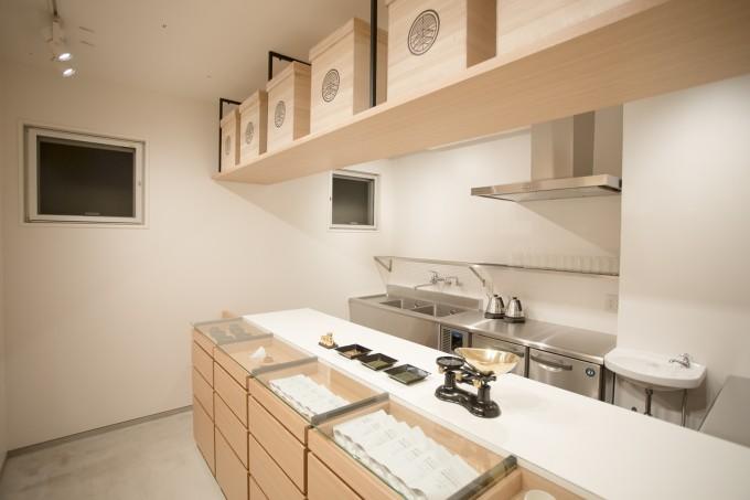「東京茶寮(とうきょうさりょう)」のワークショップなどが開催されるスペース