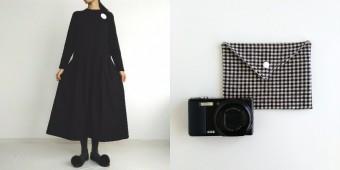装いやお部屋をそっと照らしてくれる。自由な発想で生まれる洋服と雑貨「&moon」