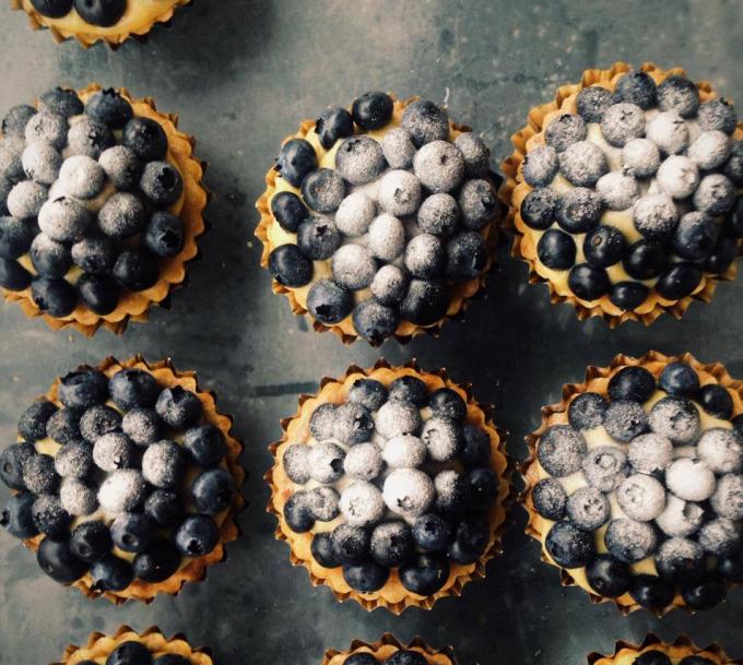 「pompon cakes(ポンポンケーキ)」のブルーベリーのタルト