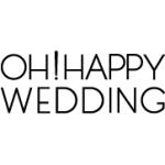 「OH!HAPPY WEDDING(オー!ハッピーウエディング)」ロゴ